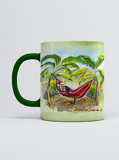 Artist Edition I Demetrio Soberon I Monkey on hammock