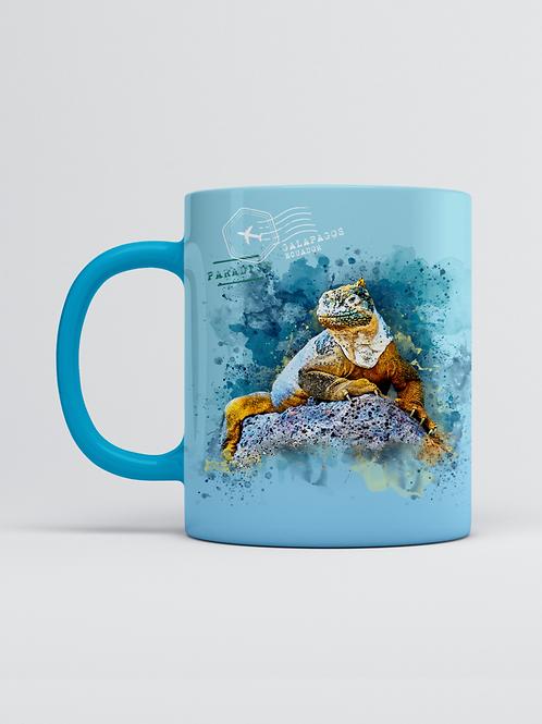Endemic Mug I Galapagos Iguana