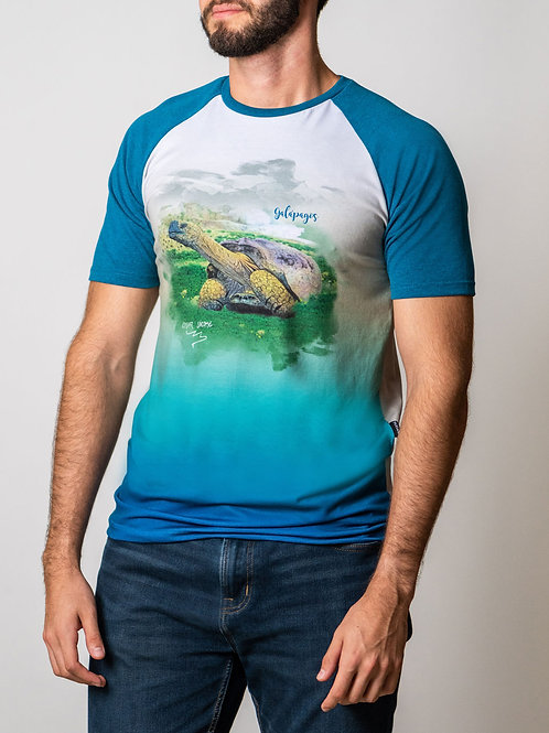 Artist Edition I Edgar Jacome I Short Sleeve Shirt I Galapagos Tortoise