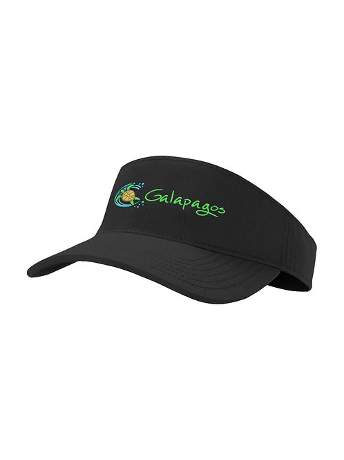Visor Hat I Black I Sea Turtle