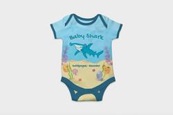 Full Color Babysuit I Shark