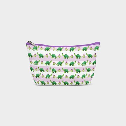Line Pouch Bag I Tortoise