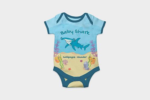 Full Color Babysuits I Shark