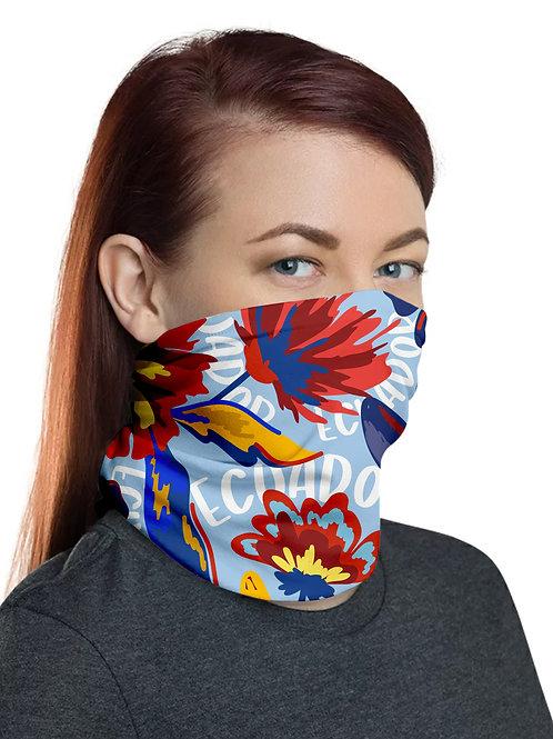 Ecuador Multifunction Headwear I Ecuadorian Flowers