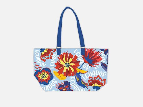 Flower Tote Bag I Ecuador