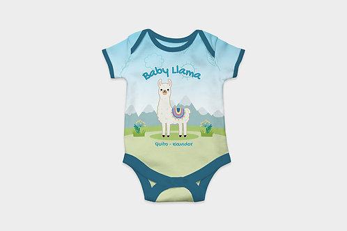 Full Color Babysuits I Llama