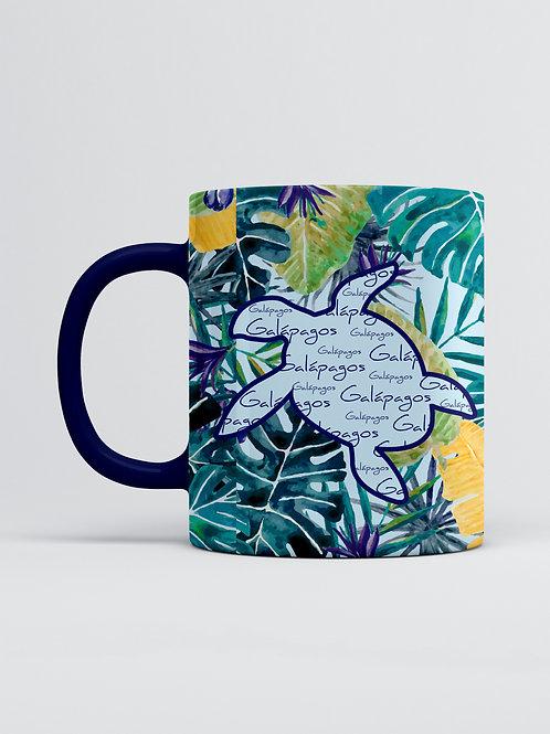 Pattern Mug I Sea Turtle