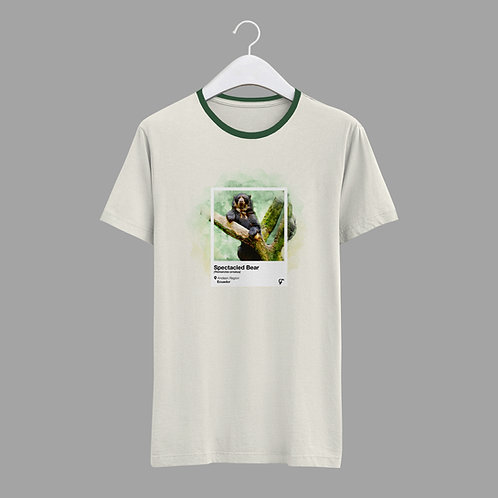 Endemic T-shirt I Spectacled Bear