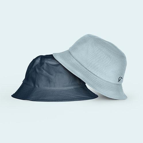 Adult Reversible Hat I Light Blue & Navy