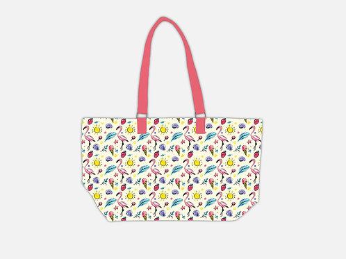 Ice cream Tote Bag I Flamingo