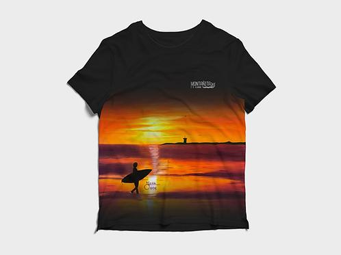 Artist Edition I Irma Once I Short Sleeve Shirt I Montañita Sunset