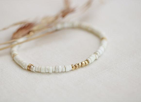 Bracelet Stella blanc