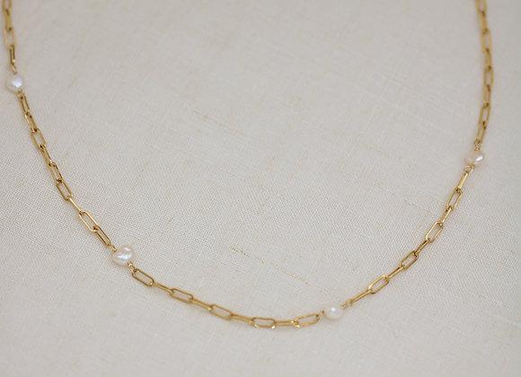 Collier Romane perles d'eau douce