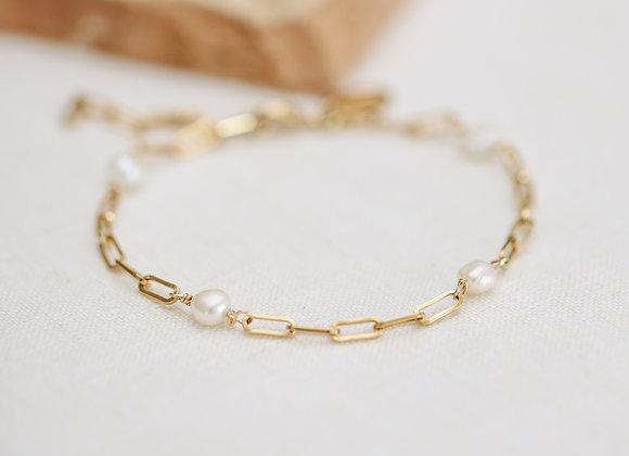 Bracelet Romane perles d'eau douce