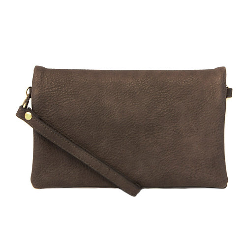 New Kate Crossbody Clutch - Charcoal