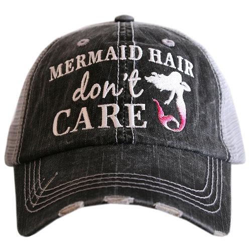 Mermaid Hair don't Care Trucker Hat