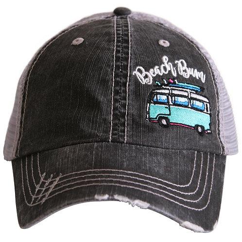 Beach Bum Trucker Hat (van)