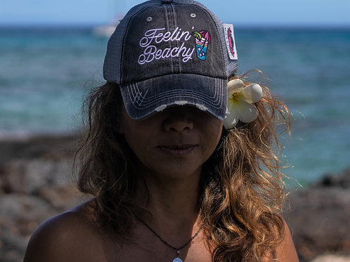 Feelin' Beachy Trucker Hat