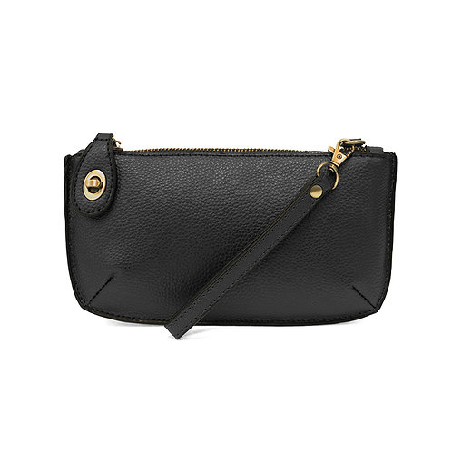 Mini Crossbody Clutch - Black