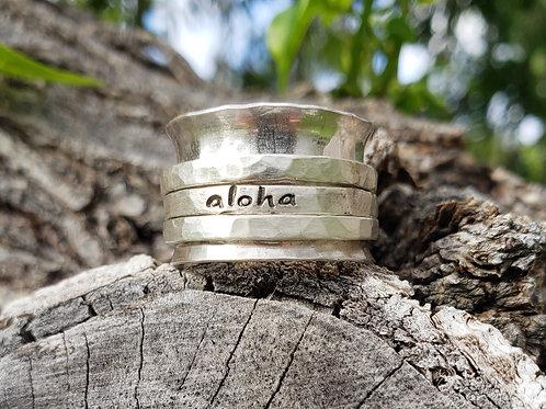 Aloha Spinner Ring