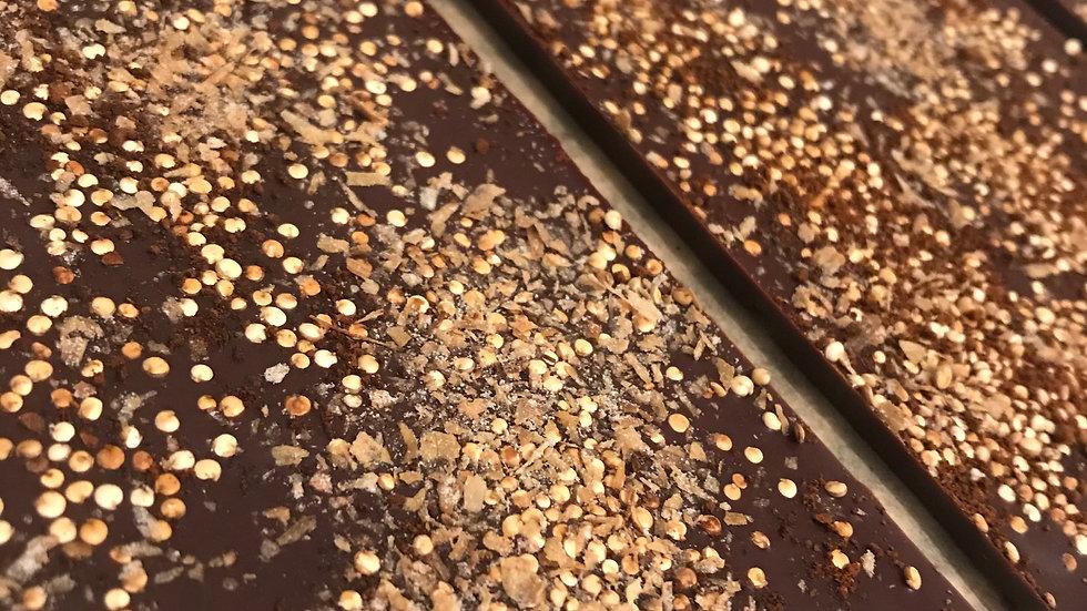Coffee, Quinoa, Magnolia - Dark Chocolate - Peru