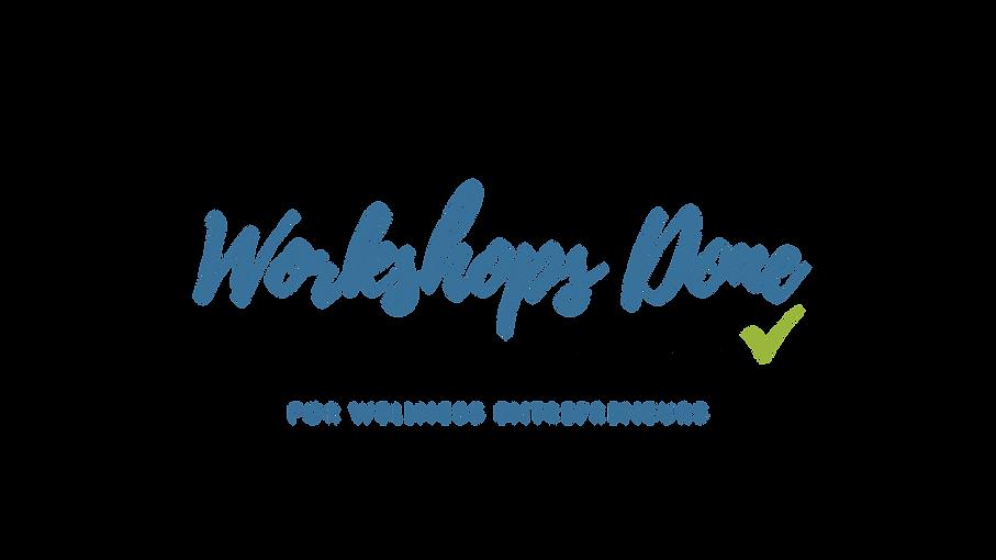 Workshops Done Academy - Logo Transparen