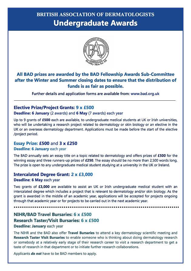 BAD Awards & Elective Grants | sotonmedsoc