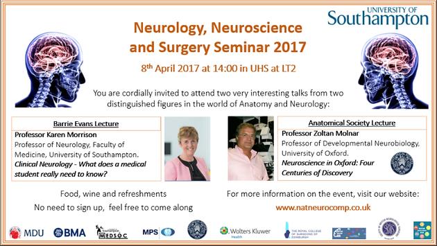 Neurology, Neuroscience and Surgery Seminar | sotonmedsoc