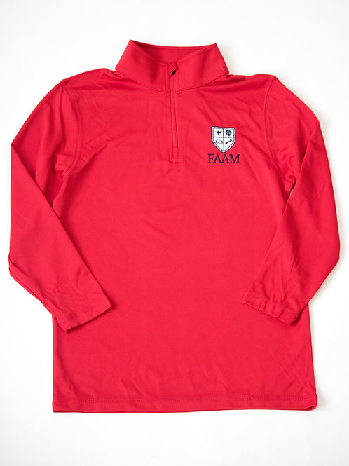 **NEW** FAAM RED PULLOVER