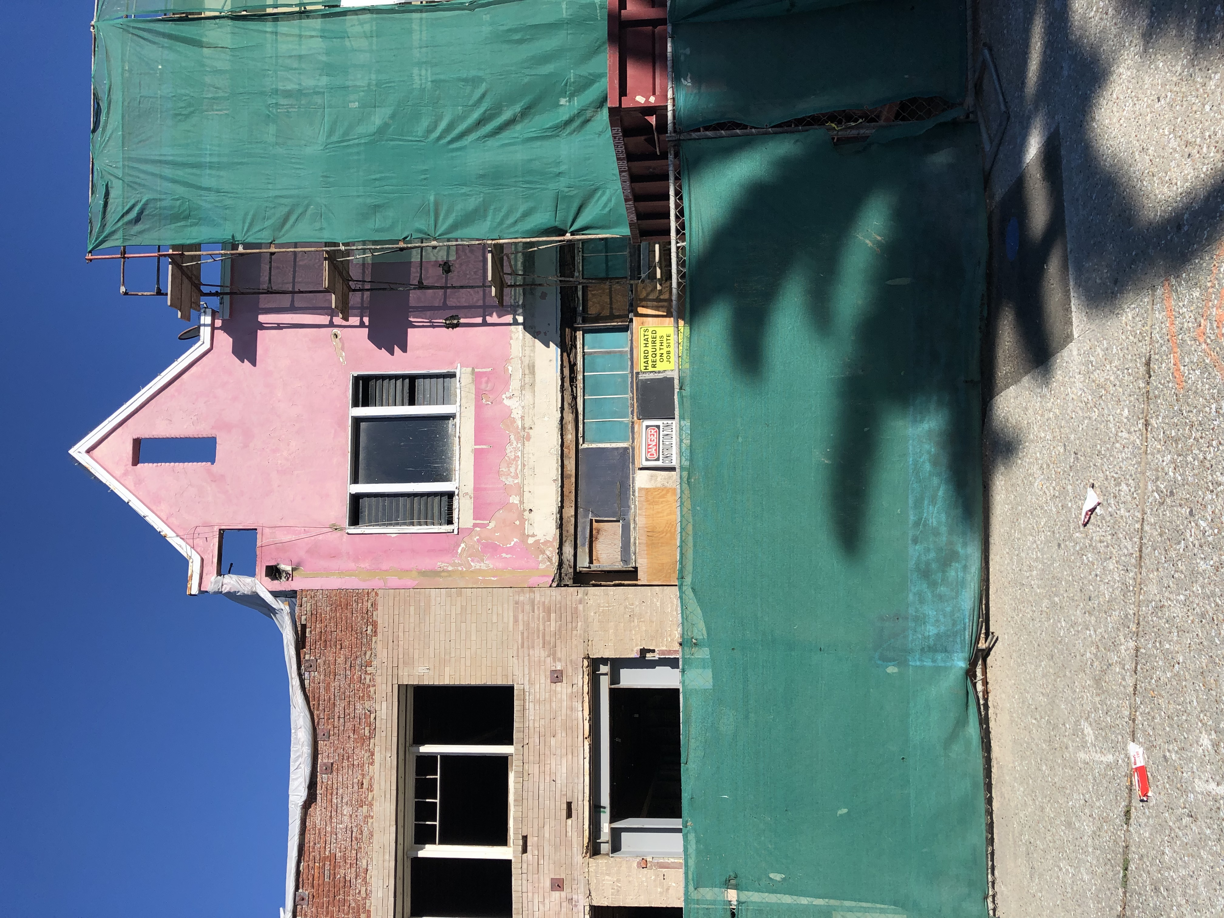 Santa Monica in pink