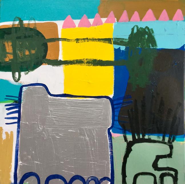 Udtaget til censoreret udstilling Bryggens Galleri og Atelier