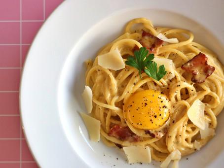 Creamy Carbonara Pasta