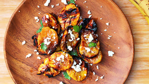Grilled Sweet Plantains