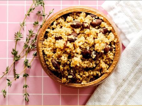 Island Style Quinoa & Beans