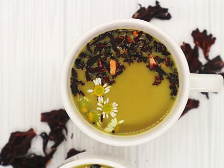 Chamomile, Hibiscus & Turmeric Restoring Tea