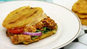 Chicken & Queso Jibarito