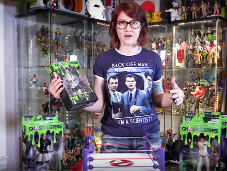WWE Ghostbusters Elite by Mattel Review and Unboxing!