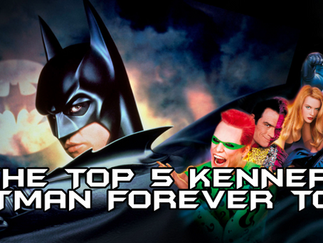 The Top 5 Kenner Batman Forever Toys!