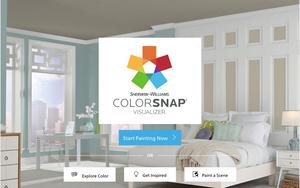 Picking a paint colour app
