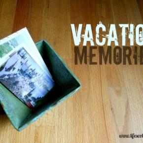 Organize Your Memories