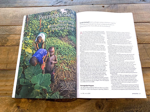 Permaculture Magazine, Africa, Uganda, Permagarden, Refugees, FitWild