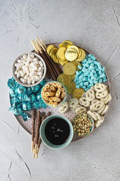 Chanukah Hot Cocoa Board