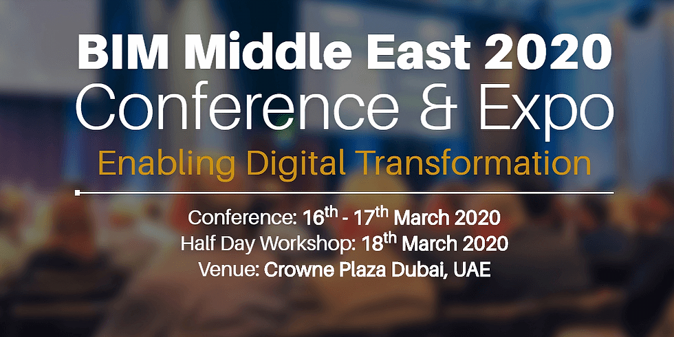 BIM Middle East Conference & Expo