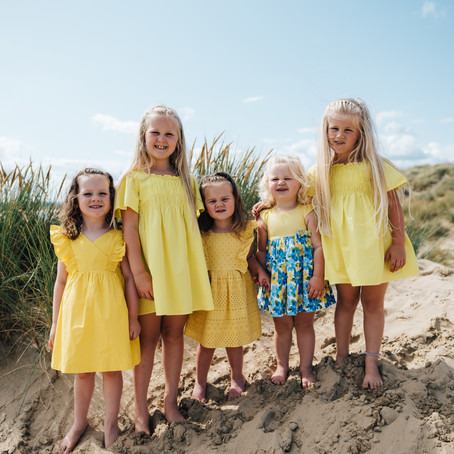FAMILY BEACH SHOOT - CAMBER SANDS