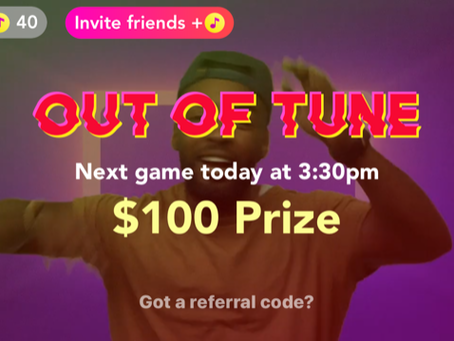 Ian Lara Hosts New Gameshow App, Out of Tune, And It's On The Money