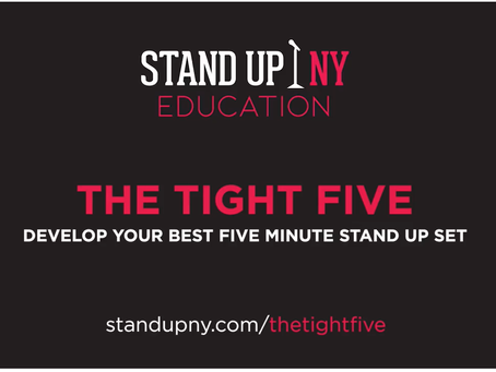 The Tight Five: Stand Up NY Offers a Course for Your Comedy Edification