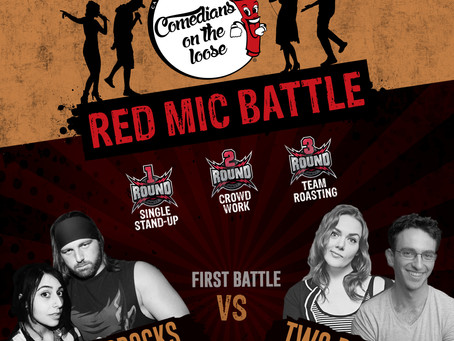 Warm Up Your Winter with the Upcoming Red Mic Battle Comedy Show