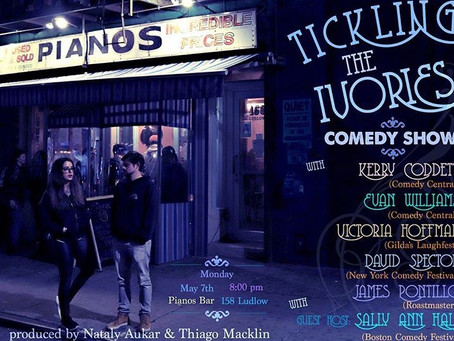 Tickling The Ivories Is Your New Monday Night Comedy Show