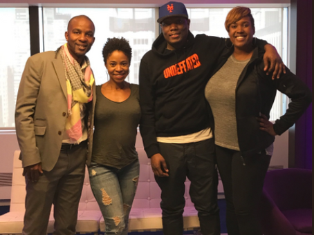 Marina Franklin Talks to Michael Che and Wade Davis on her Podcast, FriendsLikeUs