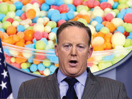 Things Sean Spicer Does to Pass the Time While He Waits to Get Fired